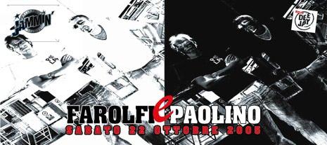 Farolfi e Paolino al Jammin'